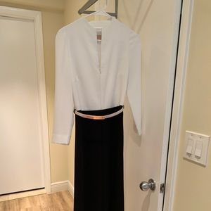 Ted Baker long sleeve jumpsuit size 1 ( us 4 )